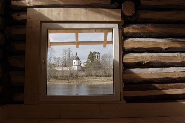 Визуальный контакт с куском природы. Гостевой дом в нашем северном поселении.