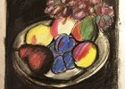 Рисуем натюрморт с фруктами Ильи Машкова. Пастель