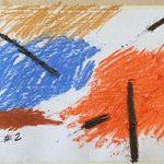 """Рисуем композицию""""Осень"""" из линий и  пятен штриховки"""